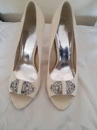 wedding shoes monsoon monsoon wedding shoes size 6 5 10 00 picclick uk