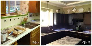 Nuvo Cabinet Paint Reviews by Dramatic Before And After Using The Giani White Diamond Kit And