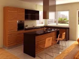dark tone oak wood with stainless steel wall mount ccoker hood and