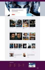 movie online website template