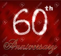 60 year birthday card 60 year happy birthday card 60th birthday vector eps10 royalty