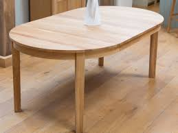 solid oak round extending dining table with design inspiration