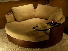 Modern Single Sofa Modern Broken White Velvet Oversized Single Sofa With Wingback