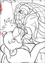 jungle book coloring pages coloring book