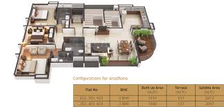 luxury floor plans in shivaji nagar