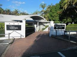 Botanical Gardens Brisbane Cafe The Entrance To The Cafe And The Botanic Garden Picture Of