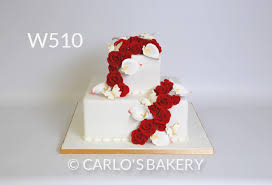carlo u0027s bakery floral wedding cake designs