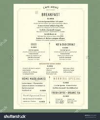 restaurants menu templates free breakfast menu templates dalarcon com breakfast menu template 2 free templates in pdf word excel