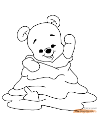 the pooh coloring pages eeyore