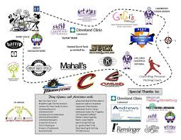 Lakewood Ohio Map by Updated With Activities And Booth Map Fitness Fits Everyone Will