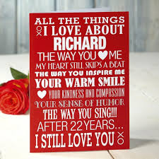 valentines day gifts for husband s day ideas husband 10 sweet valentines day gift