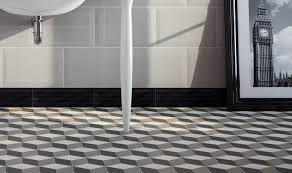 using mosaic floor tile in your bathroom marazzi