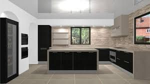 cuisine bois gris moderne modele placard de cuisine en bois 0 de cuisine moderne en bois