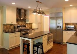 narrow kitchen with island enchanting narrow kitchen island with hanging ls 9083