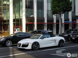 Audi R8 White - audi r8 v10 spyder 1 july 2013 autogespot