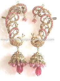 ear cuffs india turquoise ear cuff jhumka earrings gold toned earrings indian