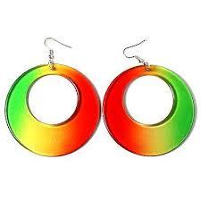 reggae earrings rasta rastafari empress irie earring one marley reggae