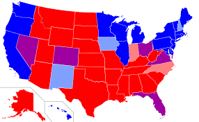 Presidential Election Map by Voting Trends And How They May Or May Not Impact The 2016
