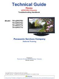 panasonic pt 53wx42f service repair manual ep824 soldering