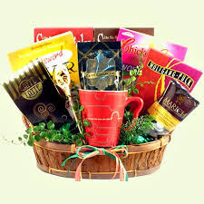 gourmet coffee gift baskets cabin fever survival care package