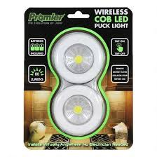 what is a puck light promier wireless cob led puck light 80 lumen 3xaaa peel and stick
