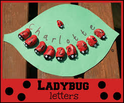 ladybug letters here come the girls