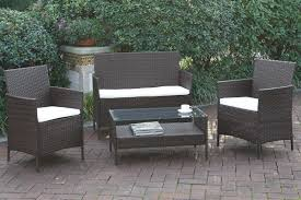 Steel Patio Furniture Sets - 4 pc liz kona collection