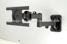 tv wall mount swing out swingout arm adjustable tilt swiveled and rotated tv wall mount