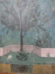 paradise regained the painted garden of livia at palazzo massimo detail triclinium of livia palazzo massimo alle terme