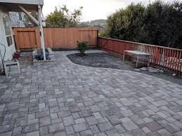 Backyard Patio Pavers Backyard Patio Pavers Project Sf Bay Area Cost Breakdown