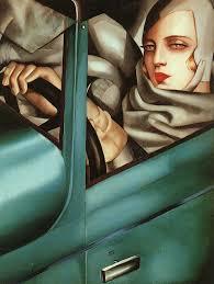 self portrait 1930 tamara de lem