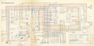 1974 datsun 620 wiring diagram wiring diagrams