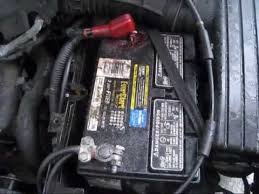 2006 honda accord battery battery cable negative side and terminal replace 2000 acura tl