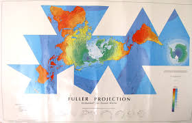 World Map Without Distortion by Buckminister Fuller World Map Projection 2160 X 1393 Mapporn