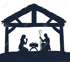 baby jesus clipart silhouette free baby jesus clipart silhouette