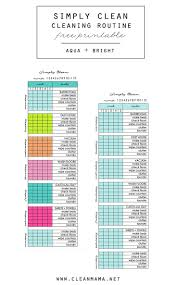 best 25 cleaning schedule printable ideas on pinterest weekly