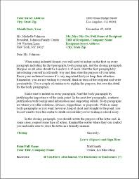 business letter layout formal business letter format