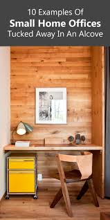 small home office small home office idea make use of a small space and tuck your