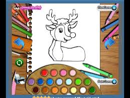 rudolph coloring pages kids rudolph coloring pages