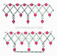 287 best jewelry branch coral fringe u0026 netting patterns images