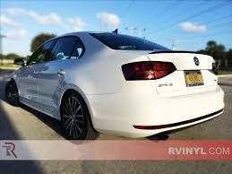 jetta volkswagen 2011 rtint volkswagen jetta sedan 2011 2014 tail light tint film