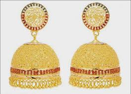 gold jhumka earrings design gold jhumka earring designs hd caymancode