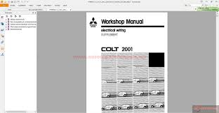 mitsubishi lancer cj ck charisma da0a 2005 workshop manual
