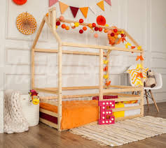 wood bed bed house frame bed baby bed nursery crib kids