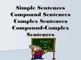 tu3083 simple complex and compound sentences lessons tes teach