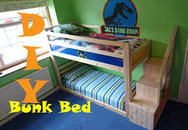 Bunk Beds  Diy Bunk Beds With Stairs Plans To Build Bunk Beds - Plans to build bunk beds with stairs
