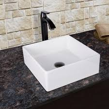 vigo dianthus matte stone vessel sink and dior bathroom vessel