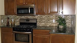 ideas for backsplash for kitchen wooden brown kitchen backsplash ideas with marble countertops and