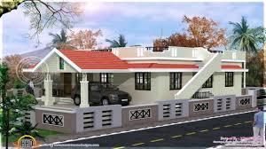 house elevation design single floor youtube