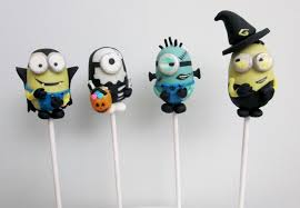 halloween minion cake pops pop culture cakes cake pops cupcakes